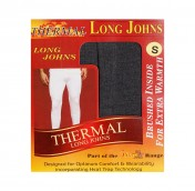 mens charcoal long john